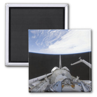A partial view of the Tranquility node Fridge Magnet