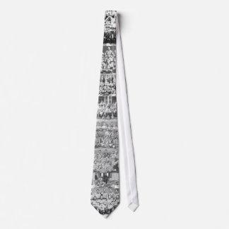 A partir de 1870 LAZO extraño hecho béisbol de los Corbatas Personalizadas