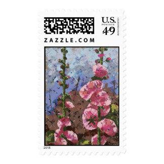 A partir de días antiguos sellos postales