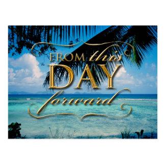 A partir de este día adelante tarjetas postales