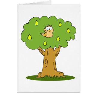 A Partridge in a Pear Tree Card