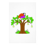 A Partridige in a Pear Tree Custom Stationery