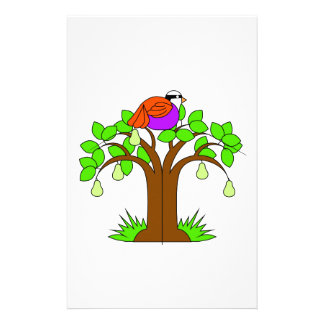 A Partridige in a Pear Tree Stationery