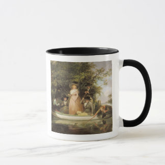 A Party Angling (oil on canvas) Mug