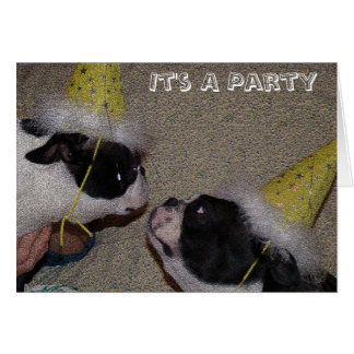 A Party Greeting Card