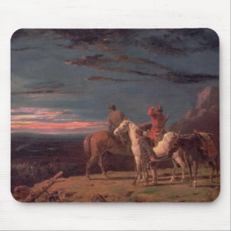 A Party of Explorers, 1851 (oil on canvas) Mouse Pad