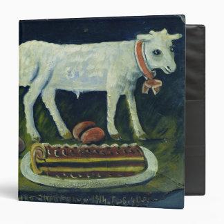 A paschal lamb, 1914 binder