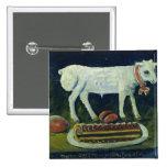 A paschal lamb, 1914 button