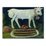 A paschal lamb, 1914 postcard