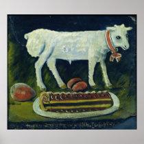 A paschal lamb, 1914 poster
