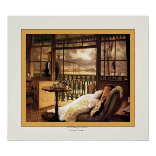 A Passing Storm ~ James Tissot ~ Fine Art Poster