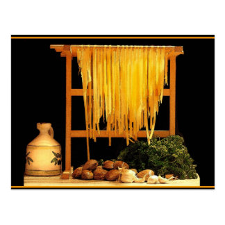 A Pasta Feast Postcard
