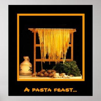 A pasta feast zazzle_print