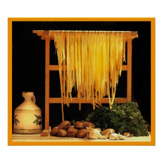 A Pasta Feast print