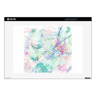 "A Pastel Garden 15"" Laptop Skin"