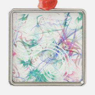 A Pastel Garden Metal Ornament