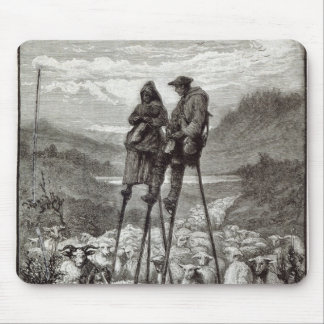 A Pastoral in the Landes Mouse Pad