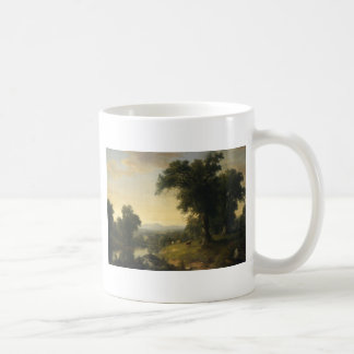 A Pastoral Scene By Asher Brown Durand Coffee Mug