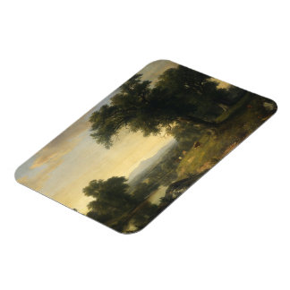 A Pastoral Scene By Asher Brown Durand Photo Magne Vinyl Magnets