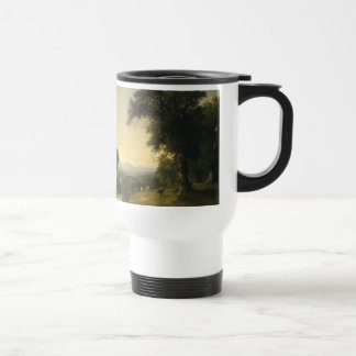 A Pastoral Scene By Asher Brown Durand Travel Mug