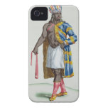 A Patagonian Man, 1780 (coloured engraving) iPhone 4 Case-Mate Cases