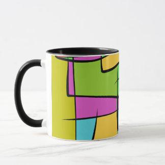 A Patch Pocket Farmer Design Mug