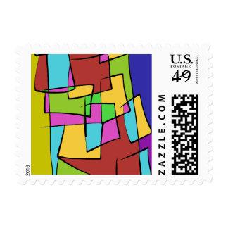 A Patch Pocket Farmer Design Stamp