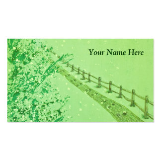A Path in the Forest Business Card