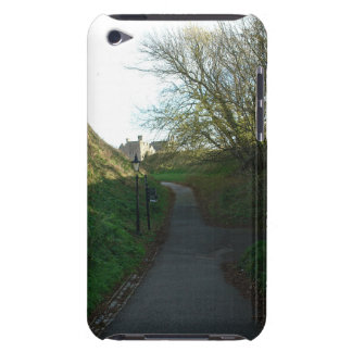 A path through a lot of greenery including bushes iPod Case-Mate case