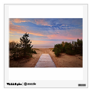A Path Through The Sand Dunes And The Baltic Sea S Wall Decal