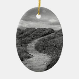 A Path to Where? Ceramic Ornament