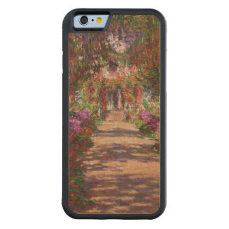 A Pathway in Monet s Garden Giverny 1902 Carved® Maple iPhone 6 Bumper Case