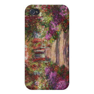 A Pathway in Monet's Garden, Giverny, 1902 iPhone 4 Case