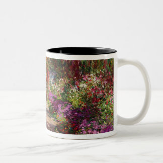 A Pathway in Monet's Garden, Giverny, 1902 Two-Tone Coffee Mug