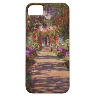 A Pathway in Monet's Garden, Giverny, iPhone4 Case Iphone 5 Cover