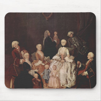 A Patrician Family by Pietro Longhi Mousepad