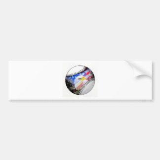A Patriotic Ball. Bumper Sticker