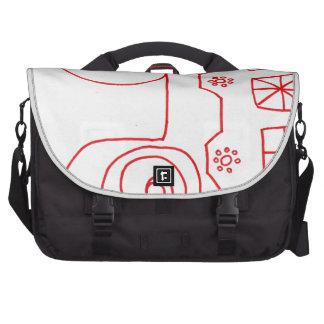 A Pattern March Laptop Commuter Bag