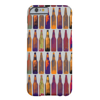 a pattern of bottles (beer) barely there iPhone 6 case
