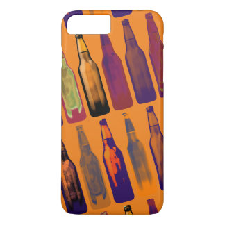 a pattern of bottles (beer) iPhone 7 plus case