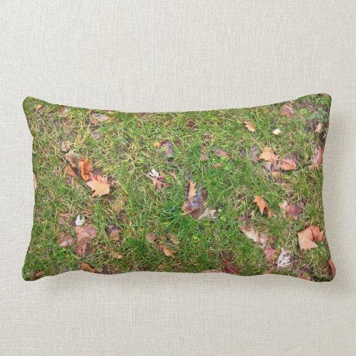 A Pattern Of Dried Fallen Leaves Pillow