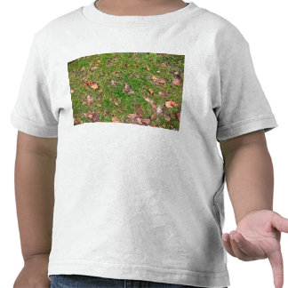 A Pattern Of Dried Fallen Leaves Tee Shirts