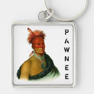A Pawnee Chief Keychain