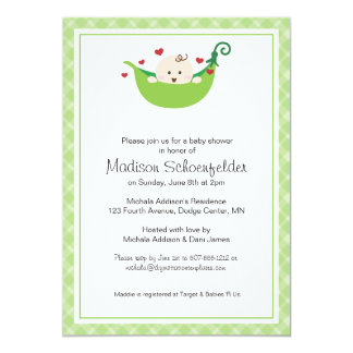 A Pea in the Pod Invitation