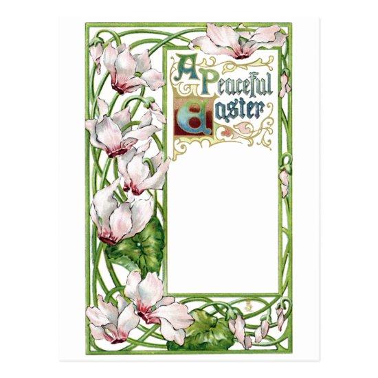 A Peaceful Easter Postcard