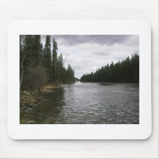 a peaceful river mouse pad