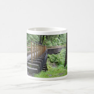 A Peaceful Walk Classic White Coffee Mug