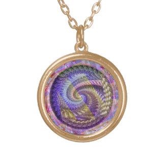 A Peacock Spiral Necklace