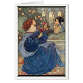 A Peal of Bells by Florence Harrison Greeting Card