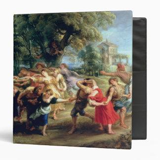 A Peasant Dance, 1636-40 3 Ring Binder